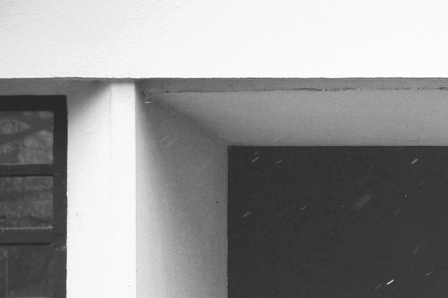 细节:墙体端头 © Flickr. M. Louis