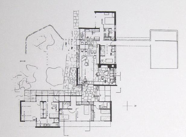 路易斯康 Louis Kahn︱埃赫里住宅 Ehle House 平面图