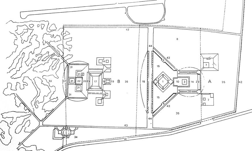 规划总图 1963年