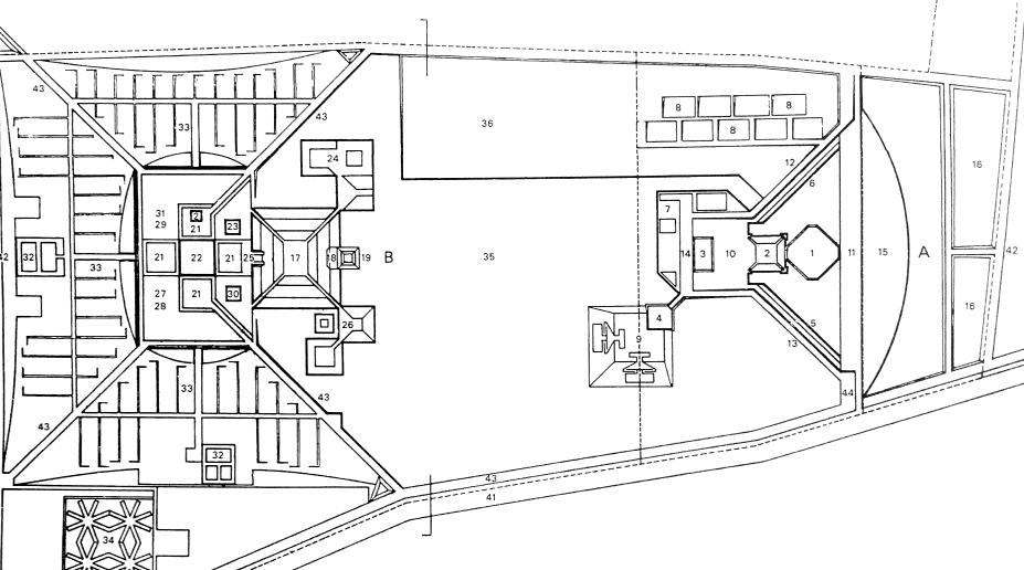 规划总图 1963年3月