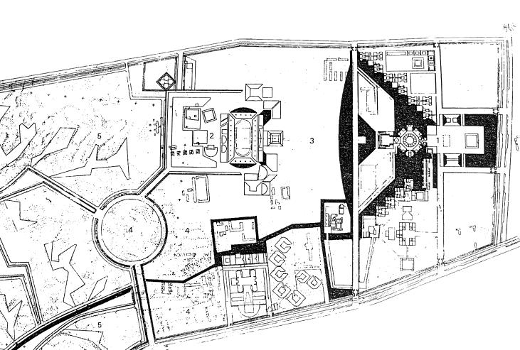 规划总图 1964年5月   水系