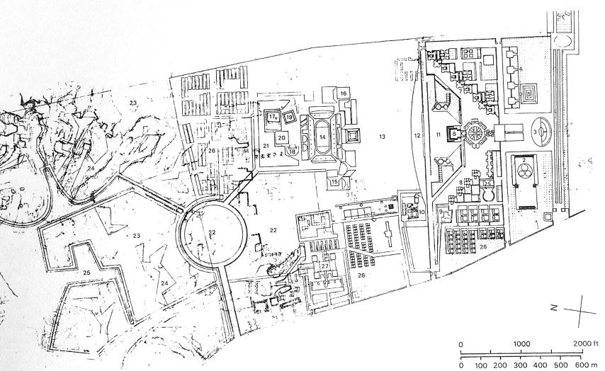 规划总图 1966年2月