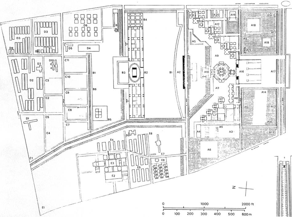 孟加拉国达卡最终规划总平面图