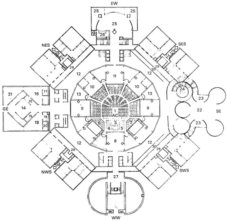 达卡议会大楼 Dhaka Assembly Building