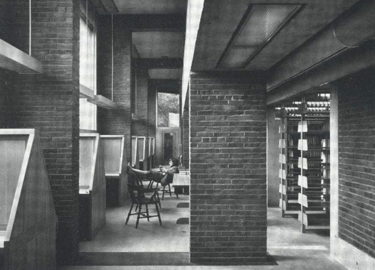 埃克塞特图书馆 Exeter Library