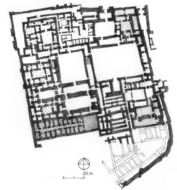 马里古城 宫殿