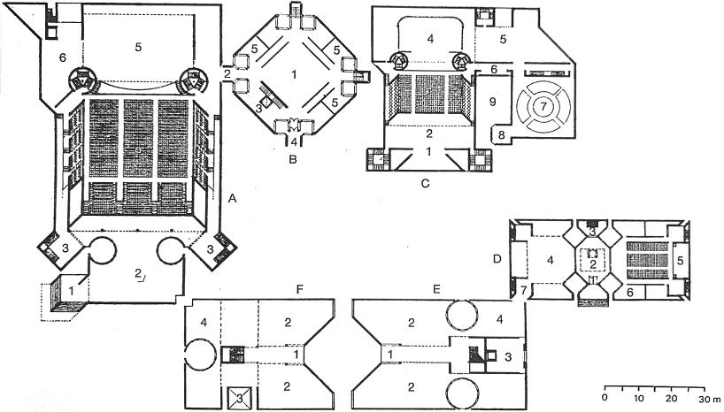 福特韦恩艺术中心 平面图