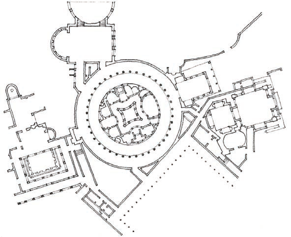 Island Villa, Hadrian's Villa