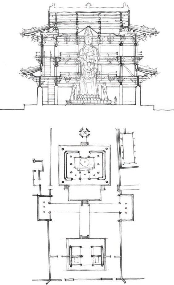 独乐寺 Dulesi Monastery