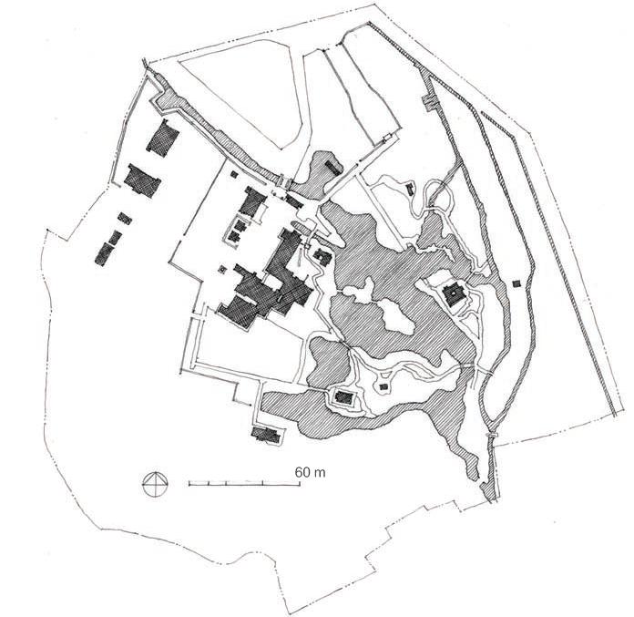 Site plan: Katsura Imperial Villa