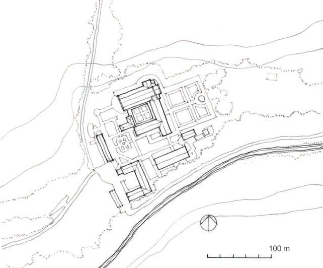 丰特奈修道院 Fontenay Abbey