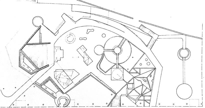 李维纪念运动场  1963年10月设计的第三版方案