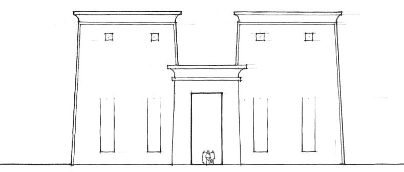 孔斯月神庙门楼
