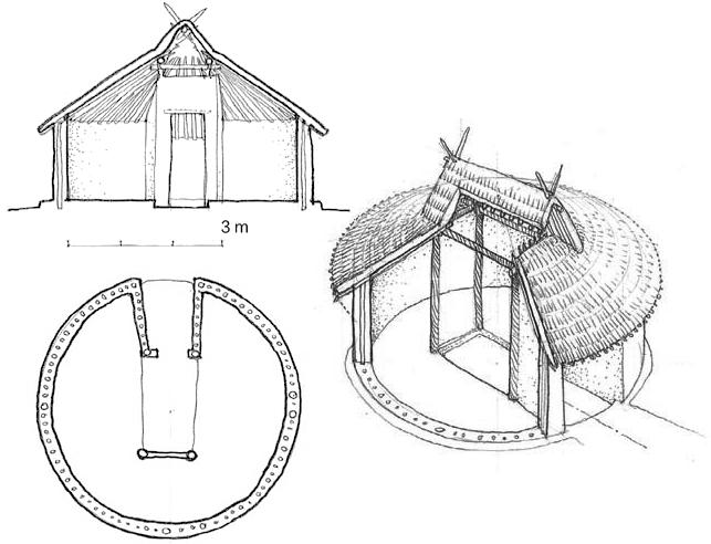 半坡村 圆形住宅