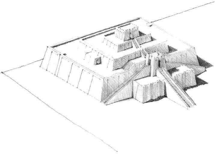 乌尔山岳台 Ziggurat at Ur
