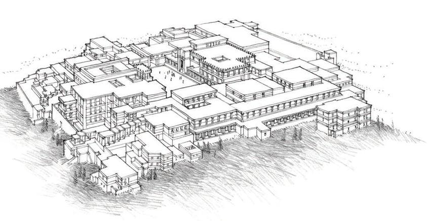 克诺索斯宫复原图