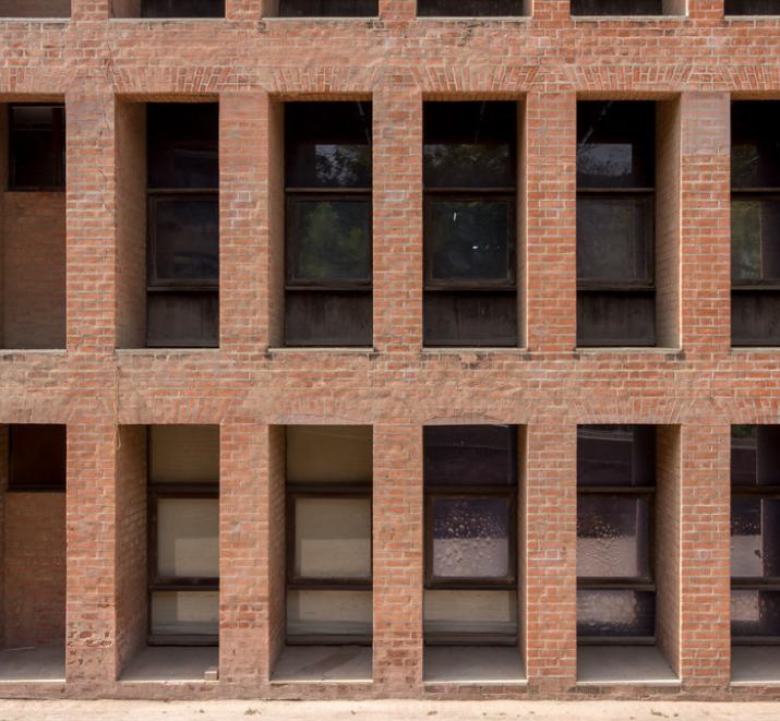 印度管理学院 砖砌平拱