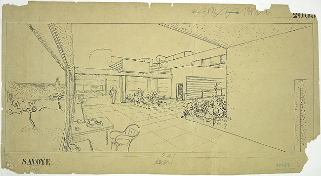 档案号 FLC 19425  © Fondation Le Corbusier