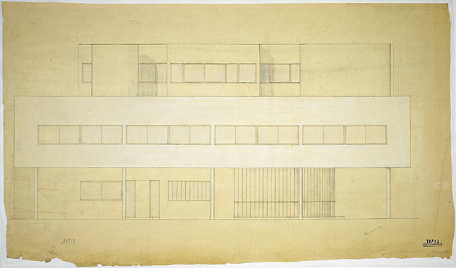档案号 FLC 19713 © Fondation Le Corbusier