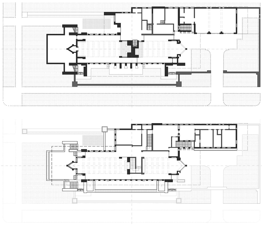 罗比住宅平面图