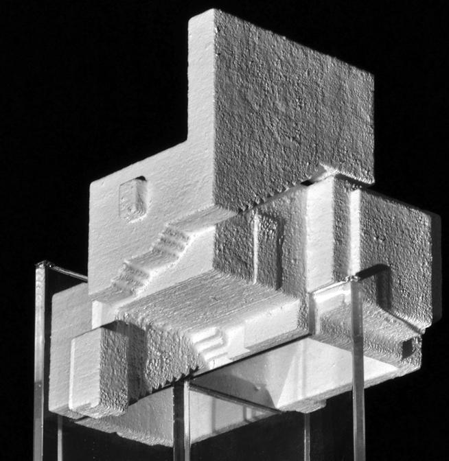 弗莱施纳住宅的空间模型