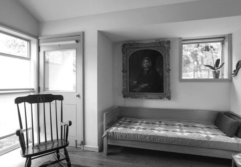 文丘里母亲住宅 Vanna Venturi House带小门廊的卧室 ©Michael Colavita