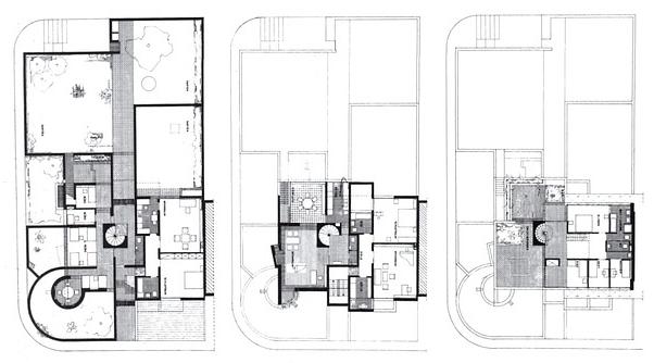 平面图 Architektur 1951-1990