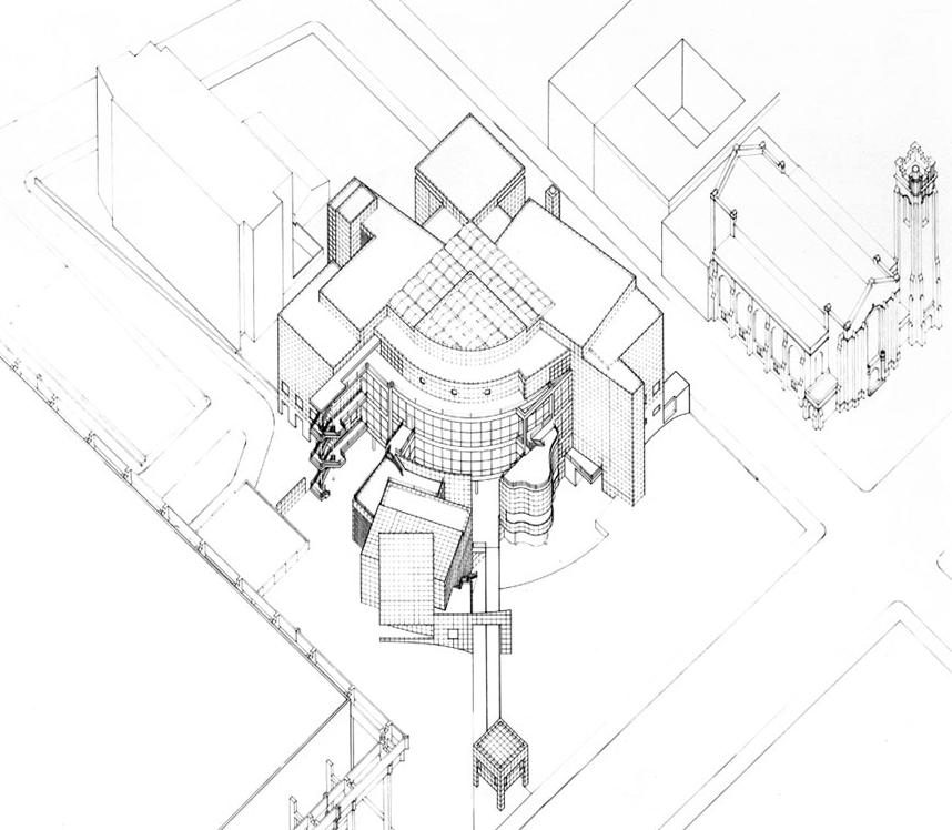 Spatial complexity: Richard Meier, High Museum, Atlanta, Texas, 1983.
