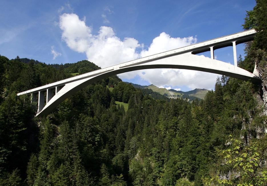 萨金娜 托贝尔桥 Salginatobel Bridge