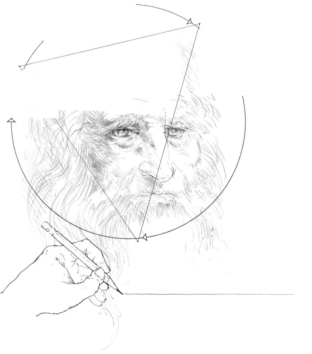 绘图仍然是一个认知过程,涉及感知性的视觉和视觉思维。