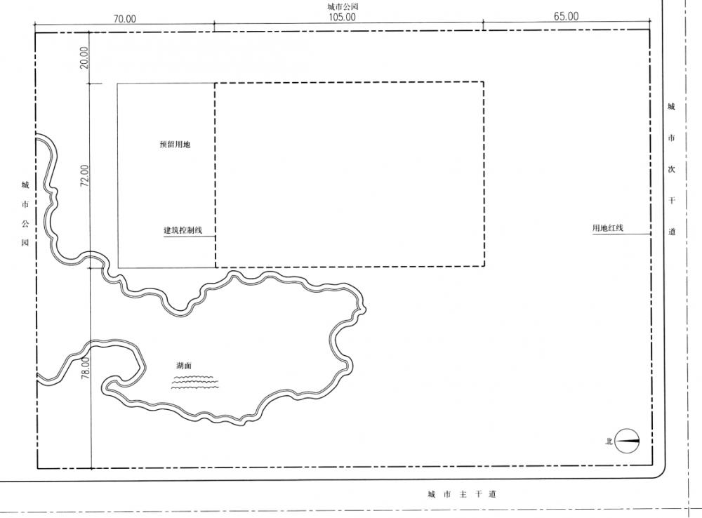 建筑方案设计(作图题)2012年真题