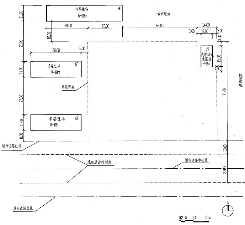 场地设计作图类型一场地分析2013年参考答案