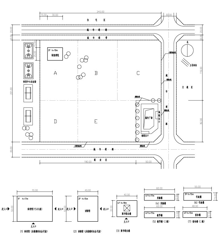 场地设计作图2018年答案