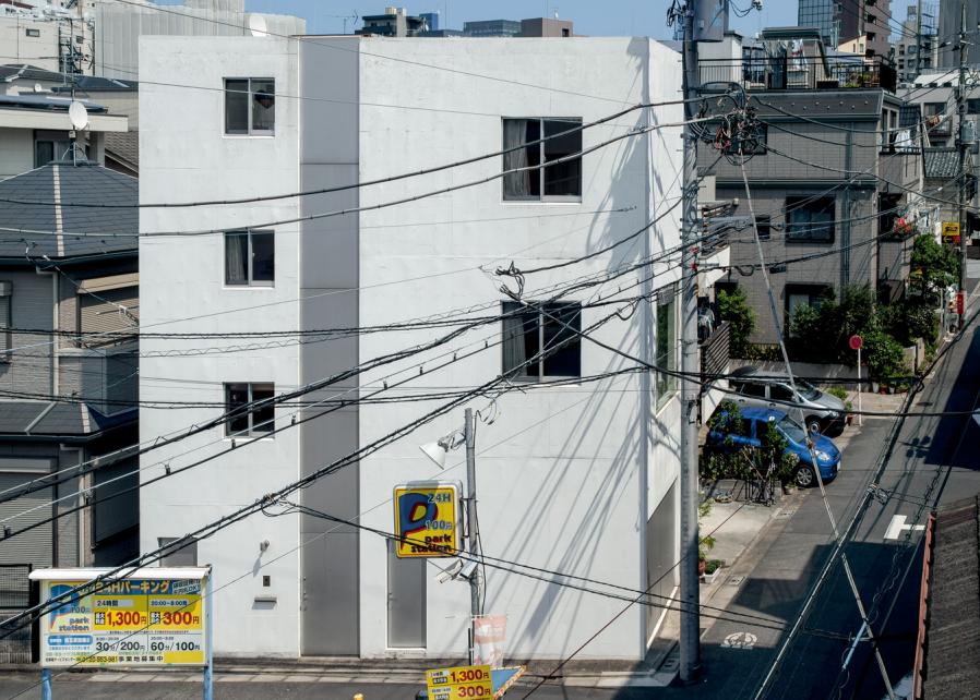五反田宅 House in Gotanda El Croquis 191 长谷川豪 Go Hasegawa