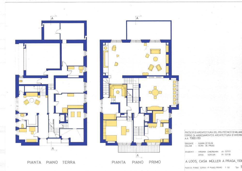 别墅米勒是一个建筑结构设计于1930年由建筑师阿道夫卢斯出生在布尔诺奥地利匈牙利(后来捷克斯洛伐克)。这座别墅位于捷克共和国布拉格。这所房子最初是为František Müller先生和他的妻子Milada Müllerová设计的。 作为早期现代主义建筑的一个创新地标,米勒别墅体现了卢斯的经济和功能理念。空间设计,被称为鲁姆普兰,可见于各个房间的多层次部分,表明了它们的功能和象征的重要性。鲁姆普兰既展示在内部,也展示在外部。