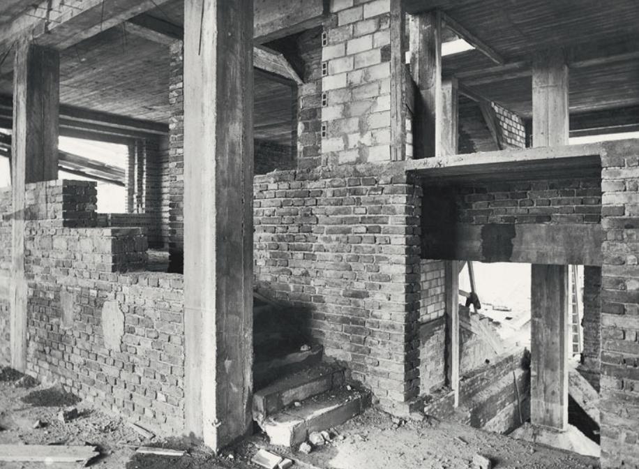 米勒住宅建造过程