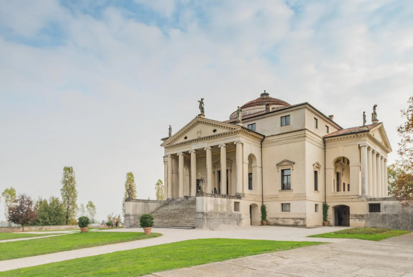 圆厅别墅 Villa Rotonda